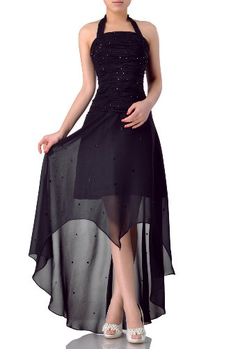 Adorona Dress Sheath Women's High Low Red Strapless rvrPa8
