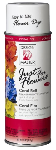 DESIGN MASTER 122 Just for Flowers Spray Paint, Coral Bell