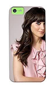 LJF phone case Illumineizl Hot Tpye Zooey Deschanel Case Cover For Iphone 5c For Christmas Day's Gifts