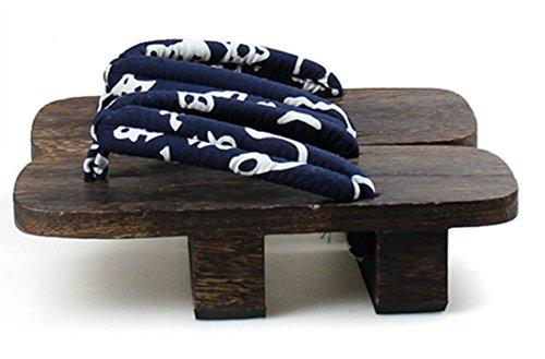 Lemail Parykk Menns Japansk Stil Tre Geta Sandaler Se1213