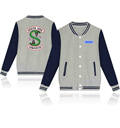 DJS Lover Jacket Fashon Riverdale Giacca casual unisex South Side Fans Giacca da baseball casual Lover Plus Size 4 Colore Capispalla 3