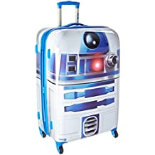 American Tourister Disney Star Wars All Ages Spinner, R2D2, Checked – Large