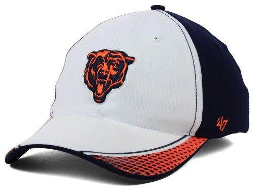 Chicago Bears Slouch Style Flex Fit BattleHawk Hat Size Large / X-Large Cap - Best Fits 7 1/2 & Up ()