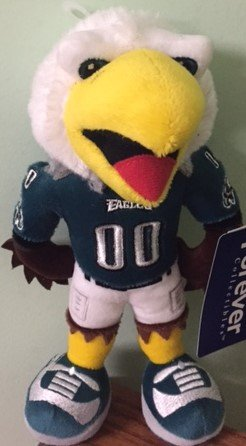 Forever Collectibles SWOOP- PHILADELPHIA EAGLES MASCOT PLUSH]()
