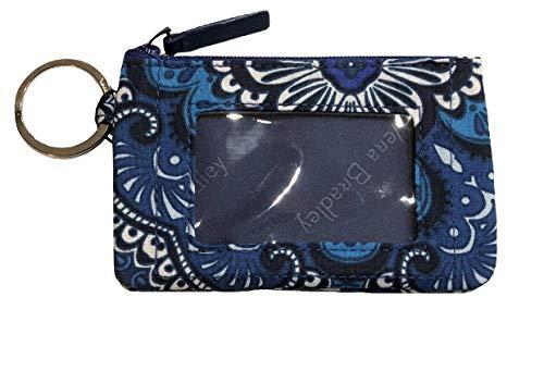 Vera Bradley Women's Zip ID Case (Blue Tapestry)
