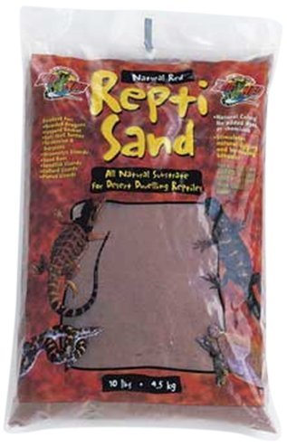 Zoo Med ReptiSand, Natural Red, 10 Pounds by Zoo Med