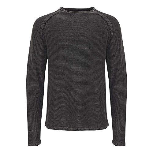 black 70155 Blend Pullover Homme Schwarz Pull YwagXI