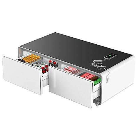 Refrigerator Coffee Table.Amazon Com Primst Multifunction Refrigerator Coffee Table 4 0