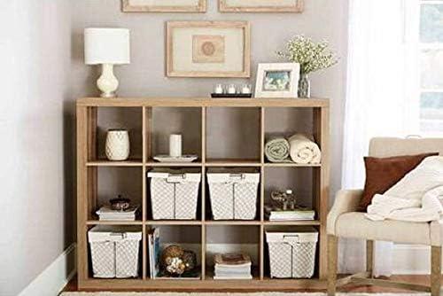 Better Homes and Gardens.. Bookshelf Square Storage Cabinet 4-Cube Organizer Weathered White