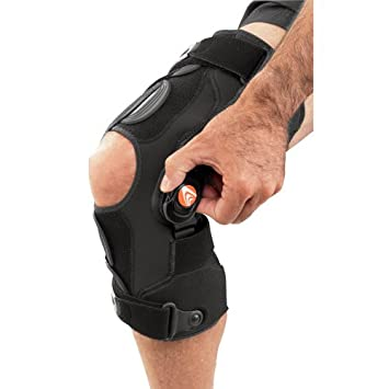 382e0ab274 Image Unavailable. Image not available for. Color: Breg Freestyle OA  Lateral Knee Brace (Medium Right)