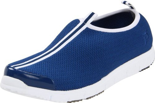 - Propét Women's Travel Walker Slip On Navy Stretch Mesh 7.5 N US