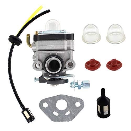 USPEEDA Carburetor for Craftsman 4 Cycle Mini Tiller Carb 316.292711 Fuel Line Grommet Kit