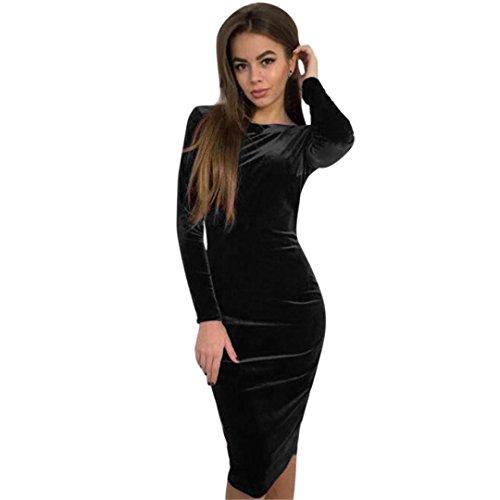 Damen Kleider Longra Abendmode Elegant Cocktailkleid Abendkleider ...