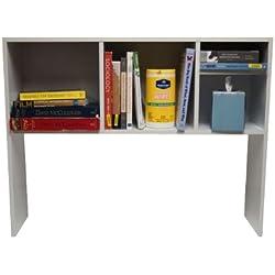 The College Cube - Desk Bookshelf - White Color