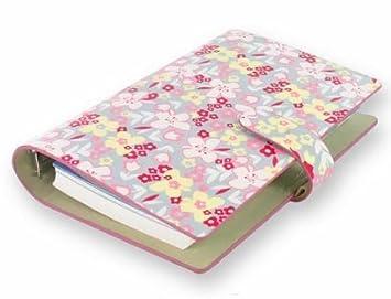 Filofax - Agenda archivador, diseño de flores: Amazon.es ...