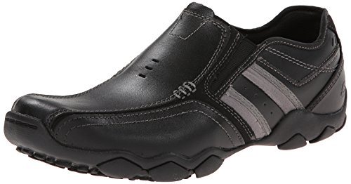 Leather Zinroy Skechers Uomo da Diameter Mocassini Black 1wqUpA