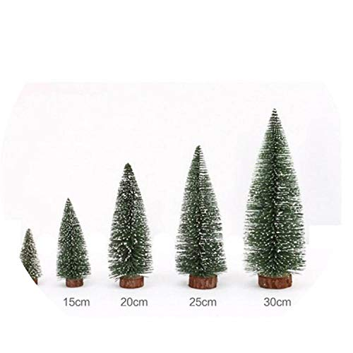 Pine Triple Wardrobe - DIY Christmas Tree Green 7 Sizes Pine Tree Mini Trees Placed in The Desktop Home Decor Christmas