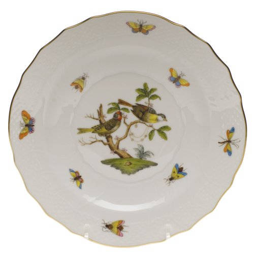 Herend China Rothschild Bird Salad Plate Motif 11