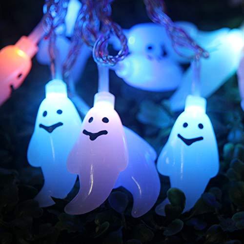 AOFITEE Outdoor String Lights Halloween Horror Nights Decoration,