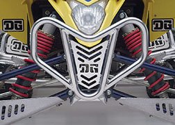 DG Performance 553-6140 V-Lite Front Bumper