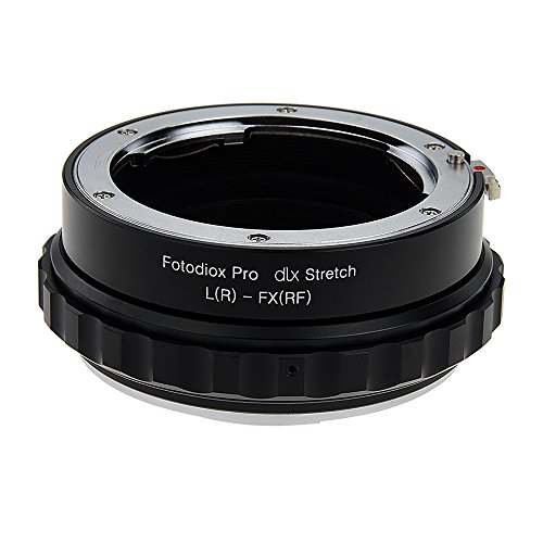 Fotodiox DLX Stretch Lens Mount Adapter - Leica R SLR Lens to Fujifilm X-Series Mirrorless Camera Body with Macro Focusing Helicoid and Magnetic Drop-In Filters by Fotodiox