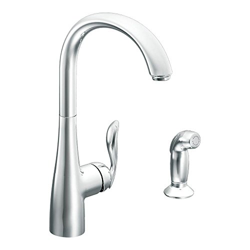 Moen 7790 Arbor One-Handle High Arc Kitchen Faucet, - Arbor Single