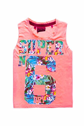 Camiseta Superdry Osaka 6 Coral Rosa