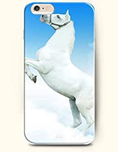 Case Cover For LG G3 Graceful Gesture of White Horse