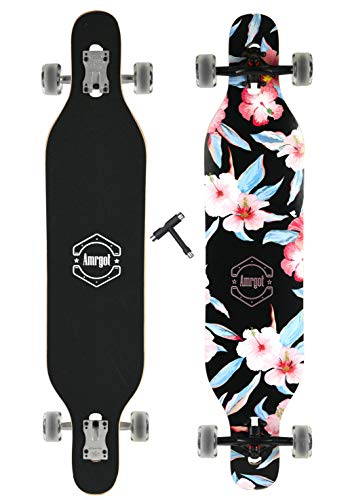 - Xtreme Free Professional Speed Drop Down Complete Longboard Skateboard(41 Inches) (5)