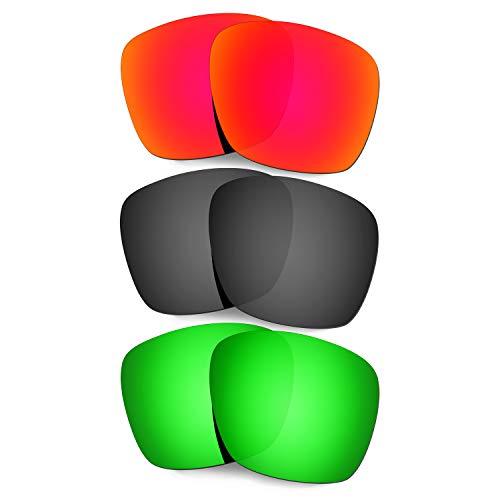 Xl verde Rojo Lentes Sol Para Rojo Hkuco Oo9350 verde Repuesto negro titanio De Gafas Oakley Twoface vfWUWFY