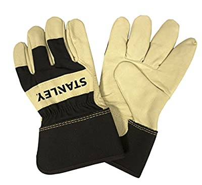 Stanley S87921 Premium Grain Pigskin Leather Palm Glove