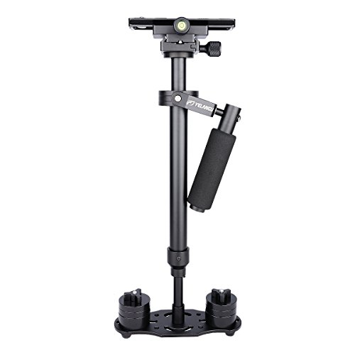 YELANGU 24''/60cm Pro Version Handheld Camera Stabilizer with Quick Release Plate for Camera Video DSLR Nikon, Canon, Sony, Panasonic by YELANGU