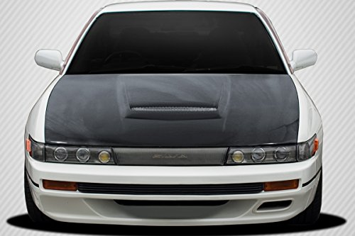 Carbon Creations Replacement for 1989-1994 Nissan Silvia S13 M-1 Sport Hood - 1 Piece