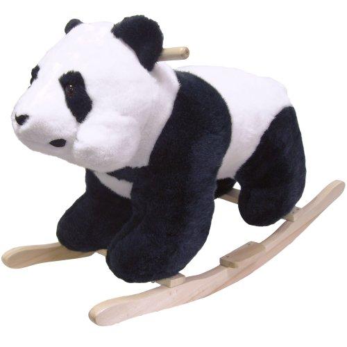 Happy Trails Panda Plush - Happy Trails Panda Plush Rocking Animal