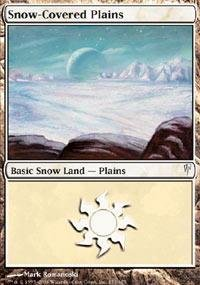 Magic: the Gathering - Snow-Covered Plains - Coldsnap - ()