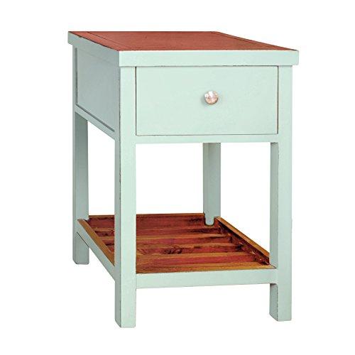 814110021677 - Tonality Designs Pari Classic Side Table, Aqua carousel main 0
