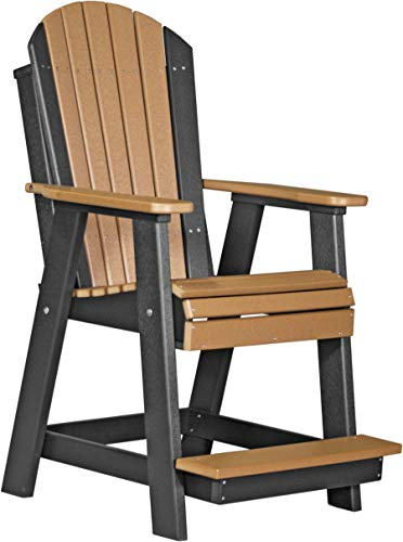 Poly Outdoor Furniture - LuxCraft Recycled Plastic Adirondack Balcony Chair