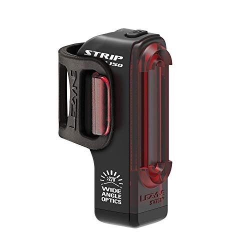 Lezyne Strip Drive Rücklicht, LED, wiederaufladbar, USB, Unisex, Erwachsene, Schwarz, Einheitsgröße