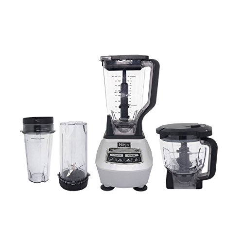 Ninja Mega Kitchen System Blender and Food Processor with Nutri Ninja Cups - BL770 (Certified Refurbished)