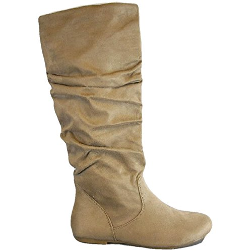 Soda Shoes Womens Zuluu S Slouch Boots