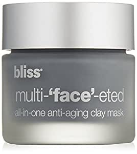 bliss Multi-'Face'-eted All-In-One Anti-Aging Clay Mask, 2.3 oz.