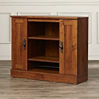 Charlton Home Horatio Corner TV Stand, Abbey Oak