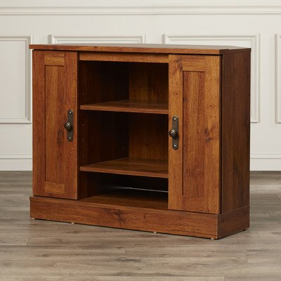 Charlton Home Horatio Corner TV Stand, Abbey Oak from Charlton Homes