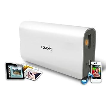 Romoss 5200mAh Batería externa de reserva y cargador con Micro-USB ...