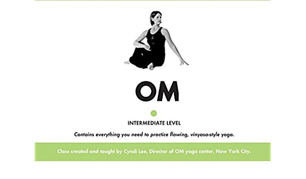 Om Yoga Intermediate Level: Amazon.es: Cyndi Lee: Libros en ...