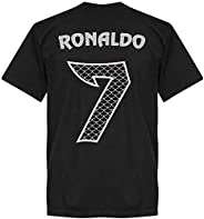 Ronaldo Dragon Kids Tee - Black