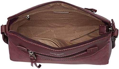D Rouge Jones 5800 bandoulière bordeaux Sacs David 1 OY1qwxCxZ