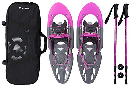 Winterial Yukon Snowshoes 25 Inch Lightweight All Terrain Women