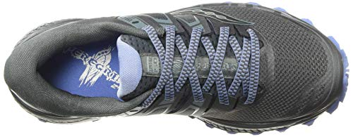 Saucony Women's Peregrine ISO Trail Running Shoe, Gunmetal, 5.5 M US by Saucony (Image #7)