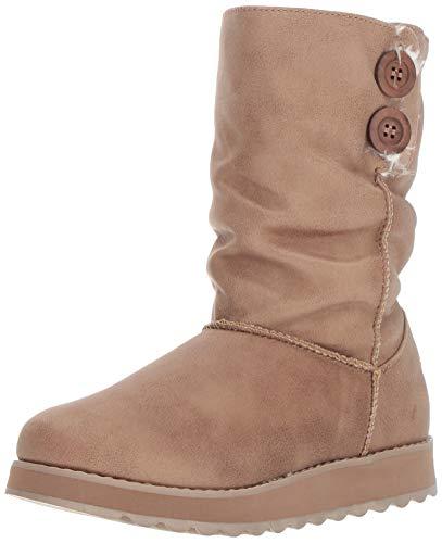 - Skechers Women's Keepsakes 2.0-Big Button Slouch Mid Boot Fashion, TPE, 10 M US